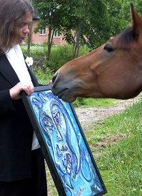 Höken_Häst