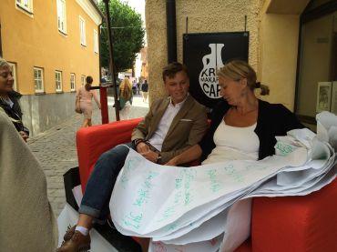 Hungergames Irl Fler Unga Samtalssoffan Richard Wahlström Lotte Johansson