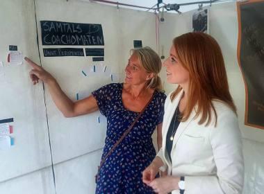 SamtalsCoachomaten Ungt Perspektiv Almedalen Almedalsveckan Annie Lööf