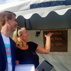 Samtals Coachomaten Ungt Perspektiv Almedalen Almedalsveckan Järvaeckan