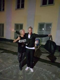 Abc Charity ambassadör Danny Saucedo Samtals Coachomaten Lotte Johansson Nytorgsfesten